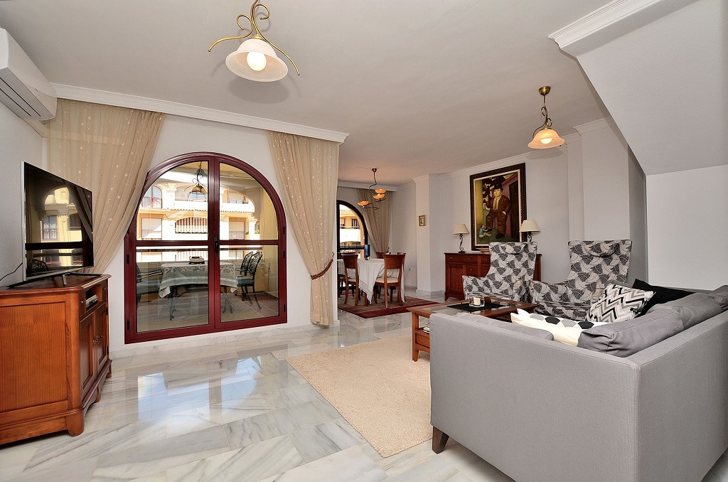 JUST REDUCED FROM 359.000 € to 299.000 €!  SPECTACULAR DUPLEX PENTHOUSE WITH SEA VIEWS located in Ar,Spain
