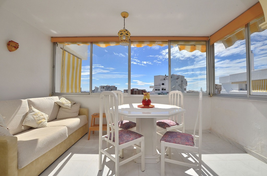 WONDERFUL TOP FLOOR APARTMENT WITH NICE VIEWS located in Benalmadena Costa, in a beautiful complex w, Spain