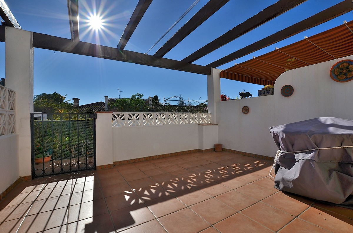 FANTASTIC SEMI-DETACHED WITH 2 LARGE TERRACES AND GARDEN located in El Pinillo (Torremolinos), in a ,Spain