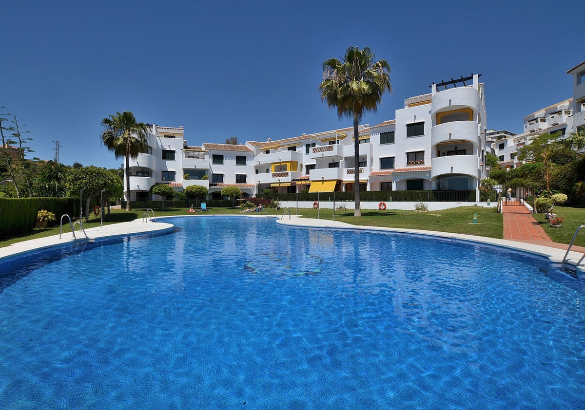WONDERFUL TOP FLOOR APARTMENT located in Benalmadena Costa, in a beautiful Andalusian-style complex ,Spain
