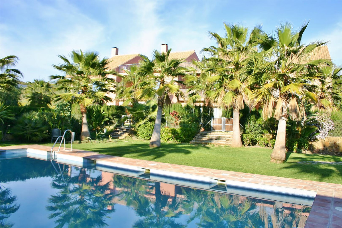 Charming townhouse for sale situated high above Nueva Andalucia, Marbella. Offering fabulous views t,Spain