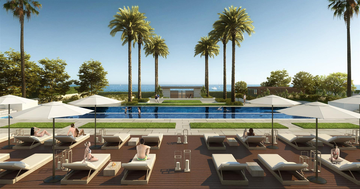 Luxury Beachfront New Contemporary Apartments & Penthouses for sale in Estepona Spain. This is a, Spain