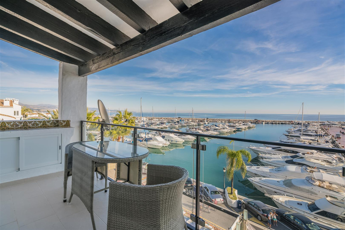 Lovely penthouse for sale in the frontline of Puerto Banus. Recently renovated, this beautiful one b,Spain