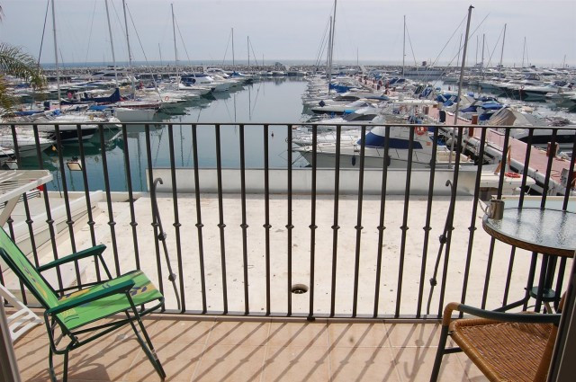 Modern style south facing frontline port apartment with stunning sea and port views, which is close ,Spain