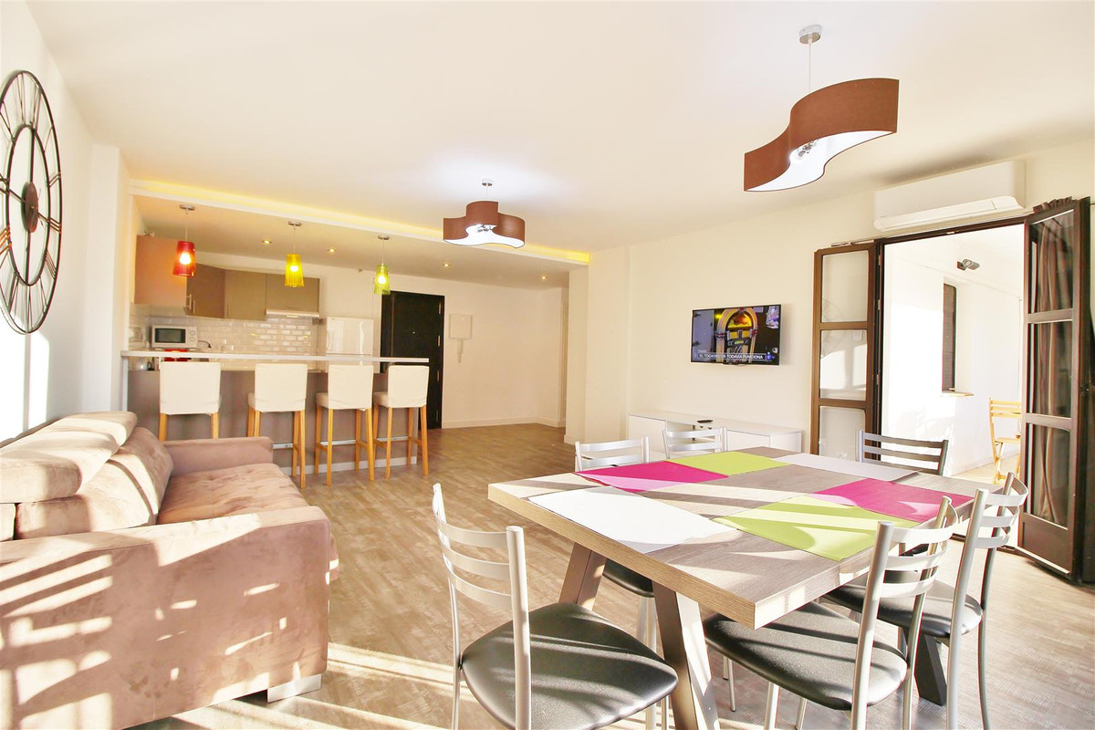 Ample one bedroom apartment for rent in Puerto Banus, Marbella. Recently renovated in a nice a conte,Spain