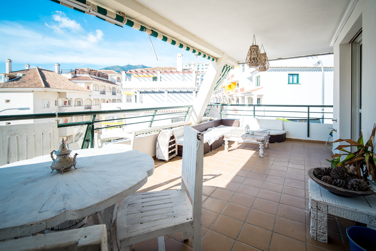 Spacious two bedroom apartment close to beach in Torrequebara, it has two terraces, other one 30m2 b, Spain
