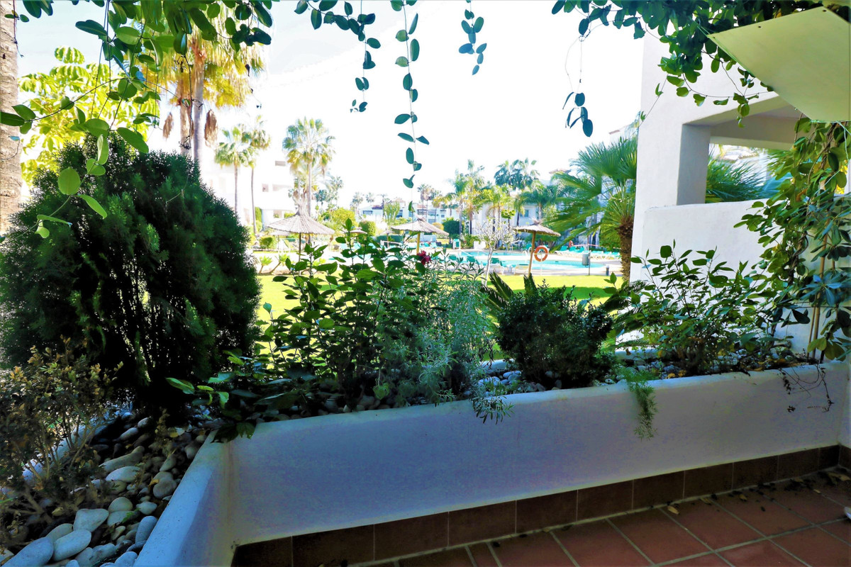 FANTASTIC groundfloor apartment only 200 meters from the sea with a large covered terrace with views,Spain