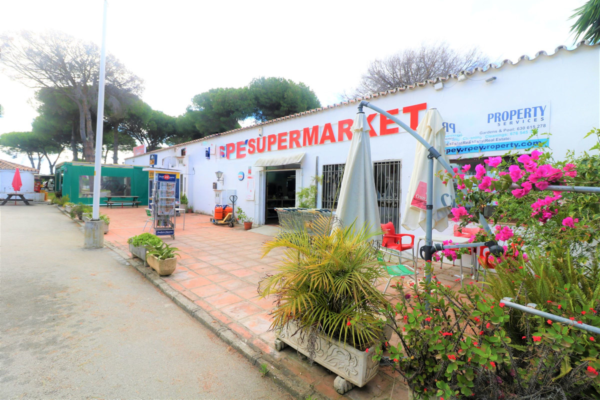 Cozy little shop line with land, parking spaces and spacious terrace JUST  A FEW STEPS FROM THE BEAC, Spain