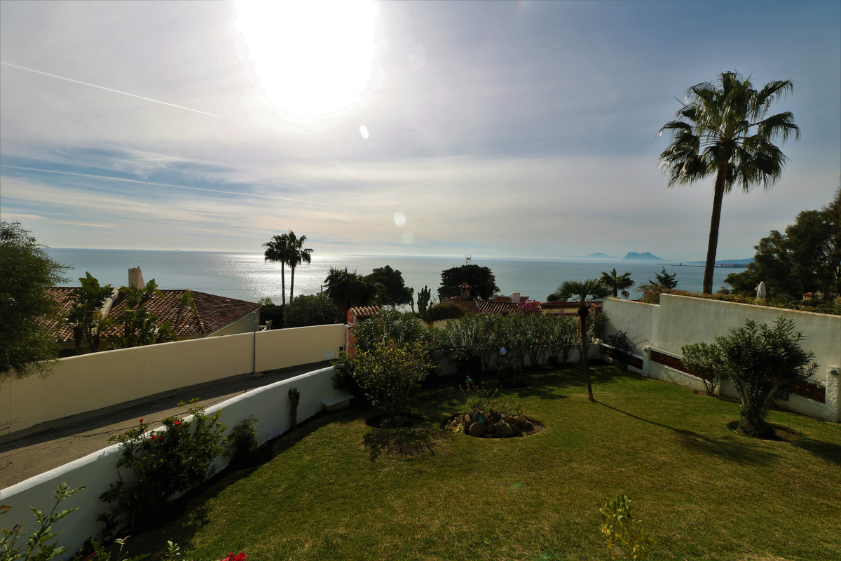SOUTHWEST FACING VILLA with stunning panoramic views to the sea, Gibraltar and the coast of Africa! ,Spain