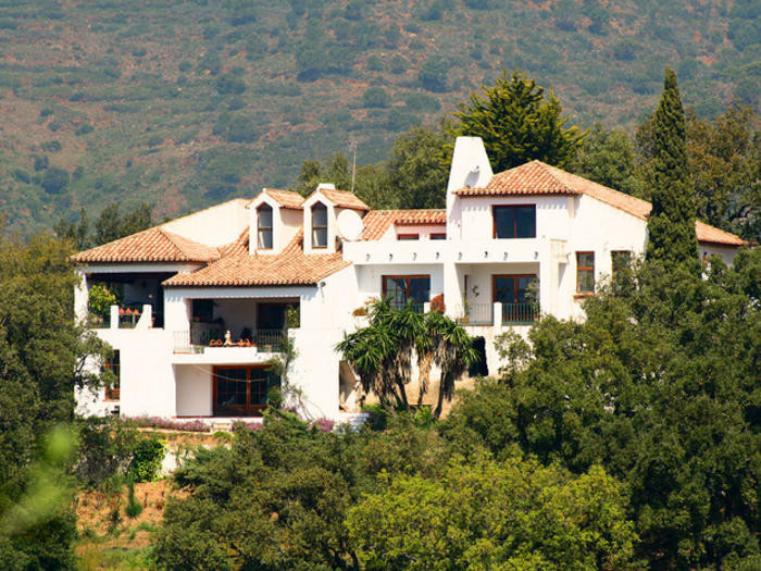 Spectacular Country Villa Casares, Costa del Sol, inland Andalucia. Sheltered by the mountains of Ca,Spain