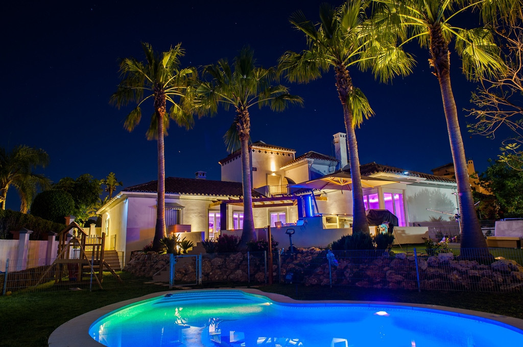 Fabulous villa situated in the exclusive area of Torre Real near the famous Rio Real golf course, at,Spain