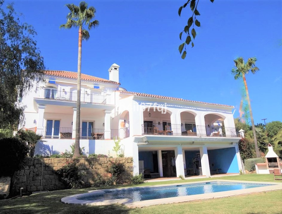 Wonderful villa with Andalusian style, very spacious with 5 bedrooms and 6 bathrooms, it has very hi, Spain