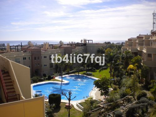 Duplex apartment with 2 bedrooms and 2 bathrooms in the Urb Toscana Hills, located in Bel Air and t , Spain