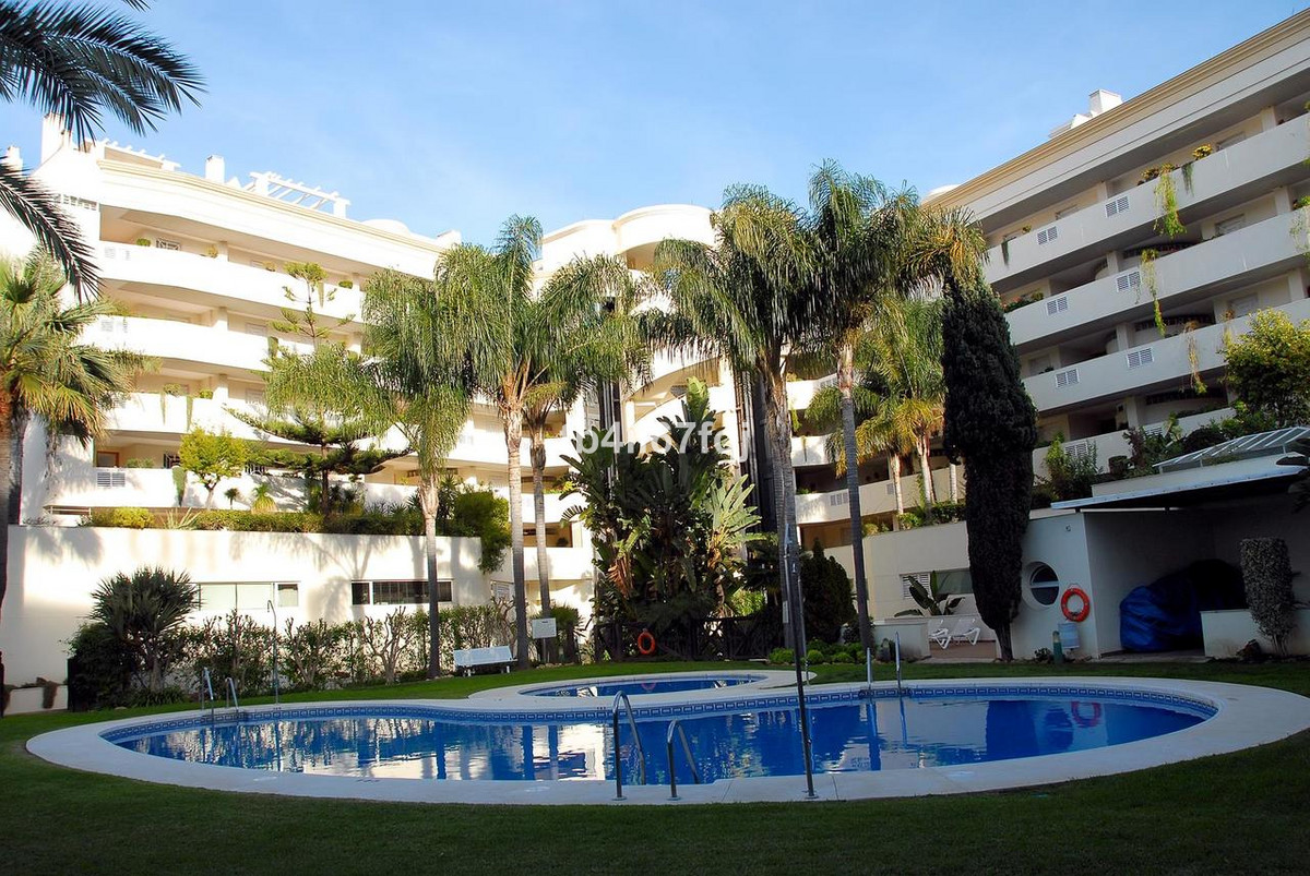 SPECTACULAR DUPLEX PENTHOUSE, located in the heart of Puerto Banus the Tembo Building.   This apartm, Spain