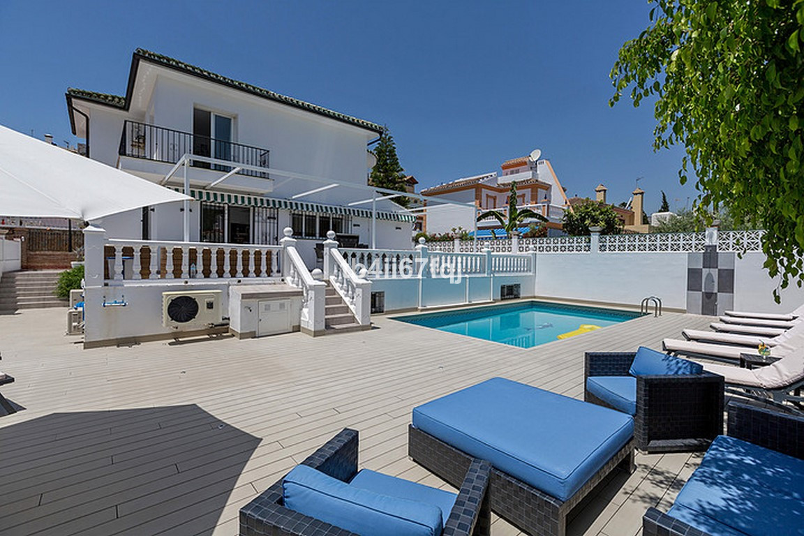 Villa in Nueva Andalucia, Marbella. Of traditional Spanish style with contemporary air. With 5 bedro,Spain