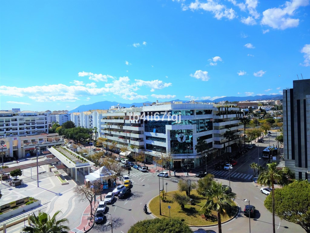Corner apartment with 2 bedrooms in one of the best complexes in Puerto Banus! The house has 101 m2 ,Spain