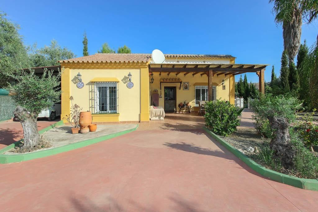 This finca sitting on a terraced plot is a real TRANQUIL PARADISE.  .   Enjoy the OUTDOOR LIFESTYLE ,Spain