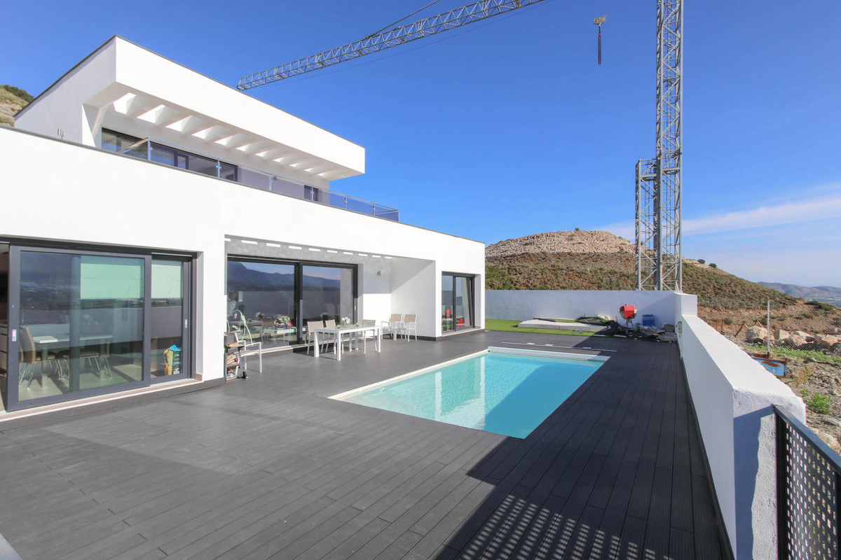 PANORAMIC VIEWS.  A property with the highest build quality.   This incredibly modern and spacious p,Spain