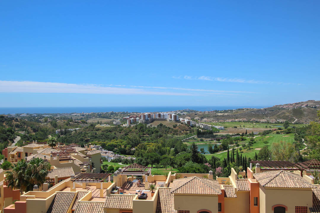 This apartment has it all, unobstructed views from the sun terrace both to the south where we get a ,Spain