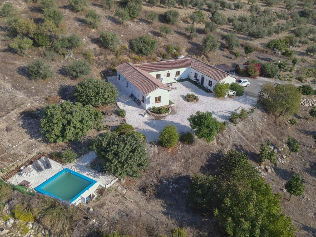 Beautiful cortijo style property nestled in the hills of Casarabonela.  .   Rolling Hills and beauti,Spain