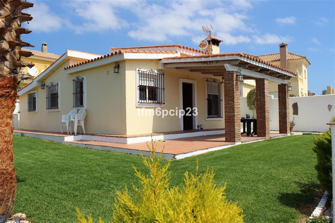 A detached villa on the popular San Diego urbanisation. This rustic property has recently been paint, Spain