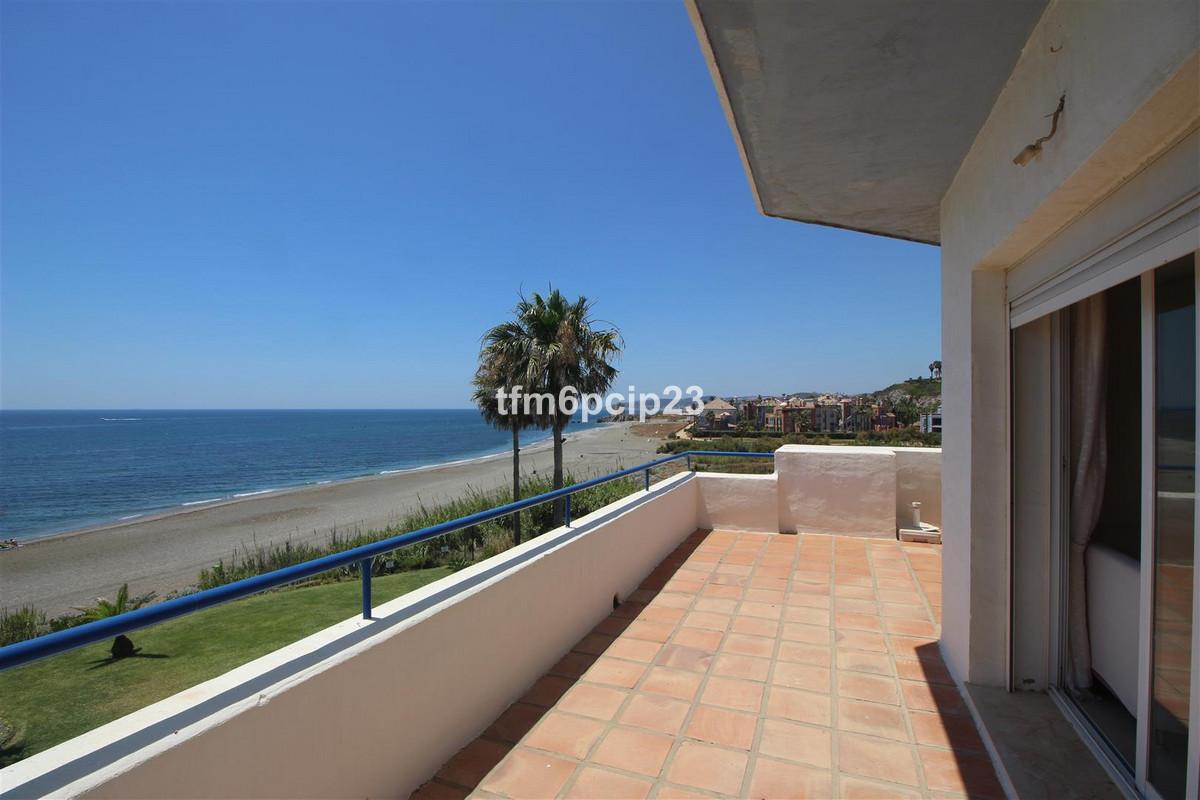CASARES DEL MAR FRONT LINE BEACH PENTHOUSE 90SQM SOLARIUM IMPRESSIVE SEE VIEWS  * Amazing property. ,Spain
