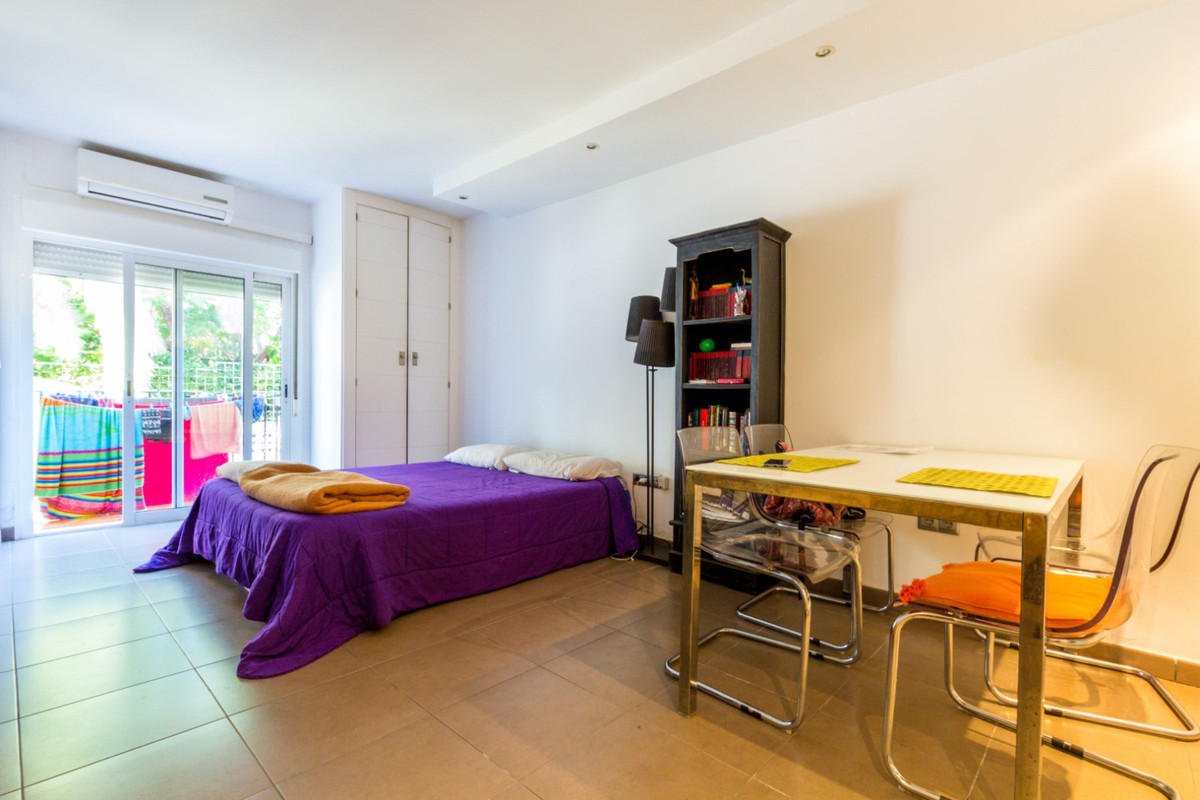 Spacious and modern studio located in a residential complex a few meters from the beach, in the area, Spain
