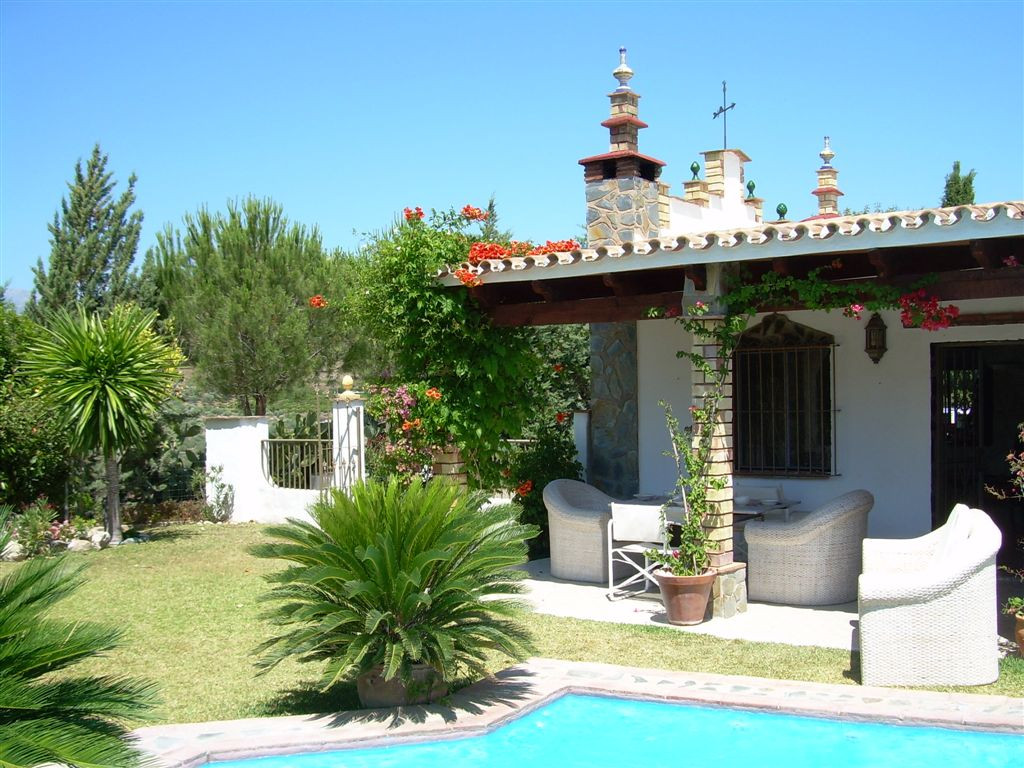 Rustic finca, situated beautifully in the hills with fantastic panoramic views to the mountains of t, Spain