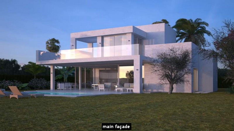 Contemporary villa development, set within a secluded environment East of Marbella, dotted with oliv,Spain