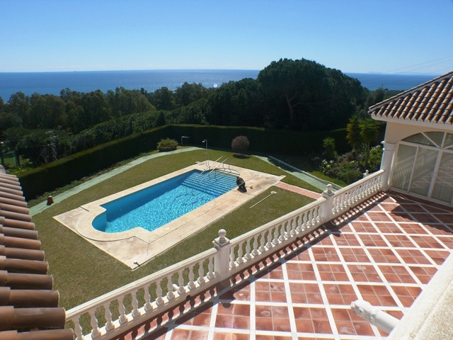 EXCEPTIONAL location and UNBEATABLE SEA VIEWS: Massive family villa in Calahonda, Mijas Costa, with ,Spain