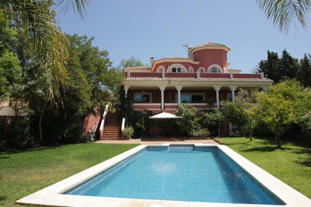 6 Bedroom 4 Bathroom Villa located in El Rosario, East Marbella with stunning sea views.    Built ov,Spain