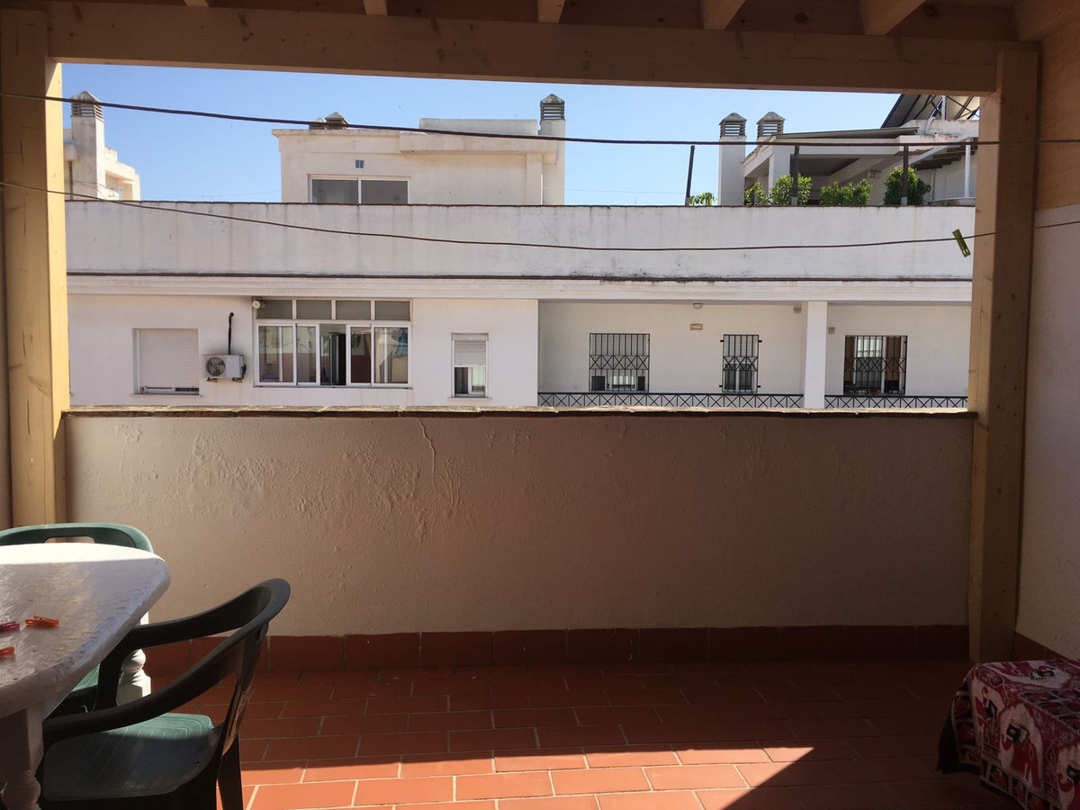 Triplex in Estepona with two bedrooms and two bathrooms, private terrace a few meters from the beach, Spain