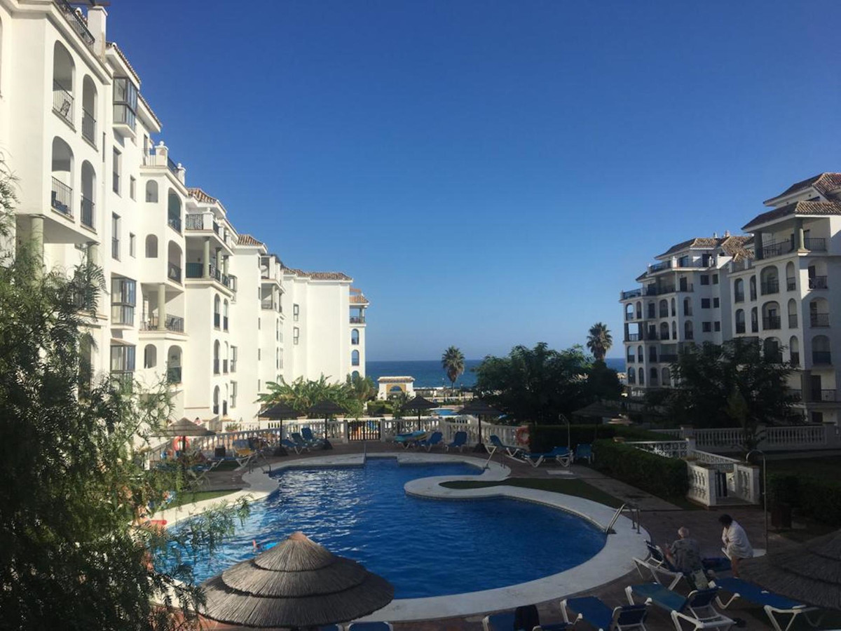 Great ground floor apartment in La Duquesa a few meters from the beach, consists of two bedrooms, tw,Spain