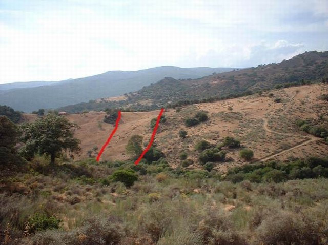 This finca is found near the village of El Colmenar, access is via a dirt track of approx 3km there ,Spain