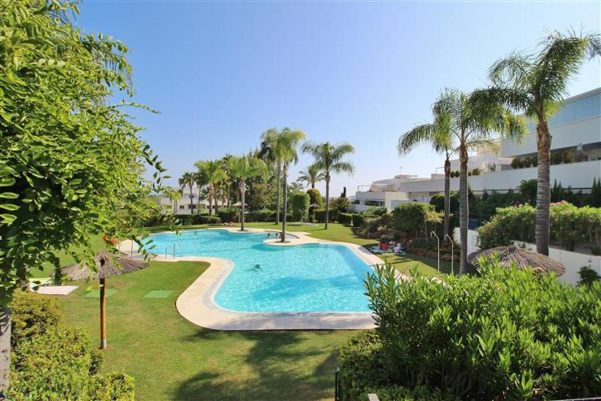 SUNSHINE AND SPACE. This beautiful GROUND FLOOR APARTMENT is situated within minutes from Puerto Ban Spain