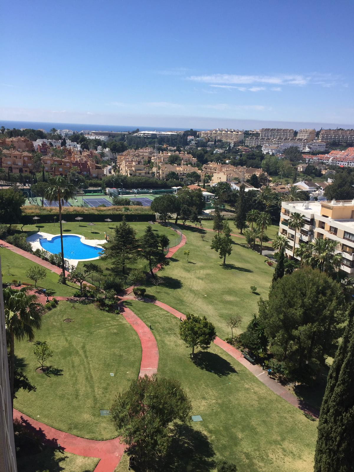 Top Floor Studio, Marbella, Costa del Sol. Built 28 m².  Setting : Frontline Golf, Town, Close To Go, Spain
