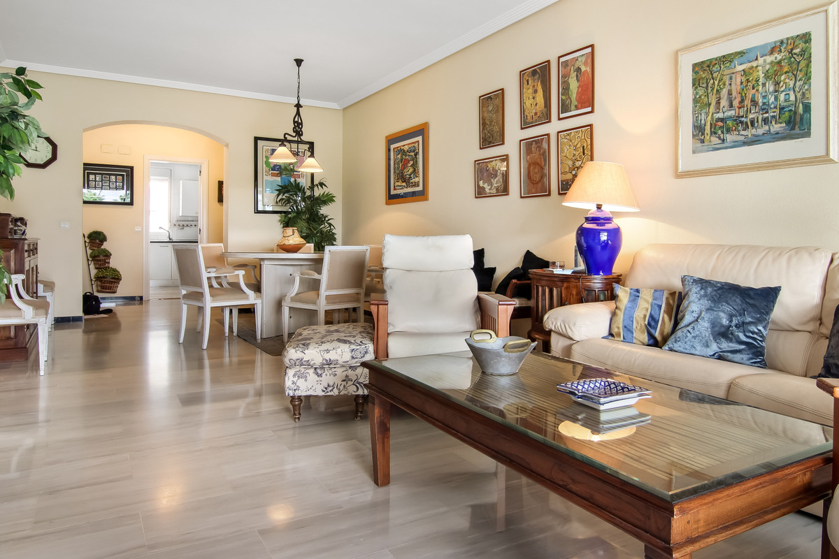 Tree bedroom apartment for sale Puerto Banus, Marbella.   This apartment is located in one of the be,Spain