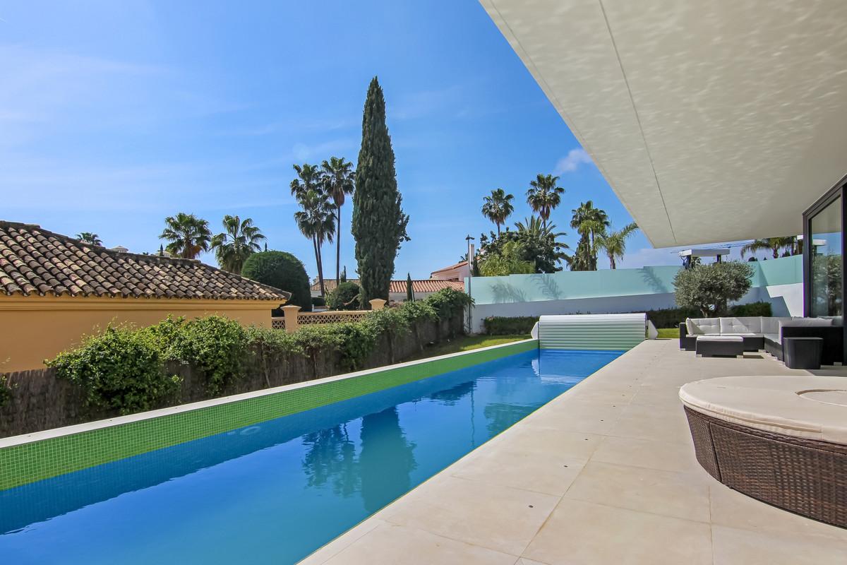A stunning newly built villa in a prestigious area of La Cerquilla, Nueva Andalucia.  This villa has,Spain