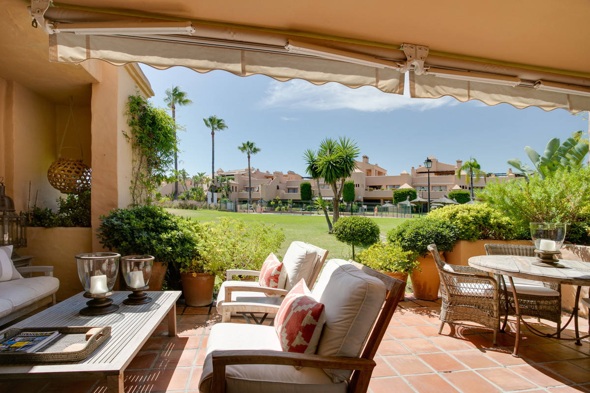 Beautifully presented ground floor apartment which over looks one of the 3 communal swimming pools. ,Spain
