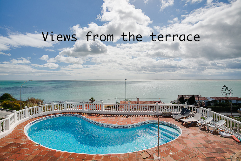 Villa with sea views on the second  line of the beach about 10 minutes away from Puerto Sotogrande. ,Spain