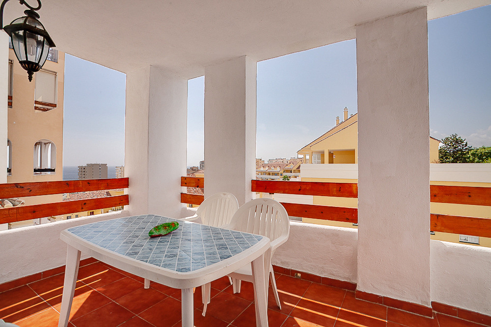 Nice apartment with sea views located just a few hundred meters from the port of Estepona.  The apar,Spain