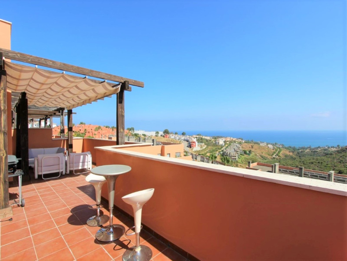 FANTASTIC PENTHOUSE WITH INCREDIBLE PANORAMIC VIEWS TO THE SEA, Coast of Africa and Gibraltar, from , Spain