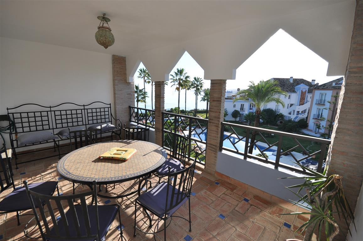 LUXURY FRONT LINE BEACH APARTMENT. Located mid way between ESTEPONA and the Duquesa Port, 5min. driv,Spain