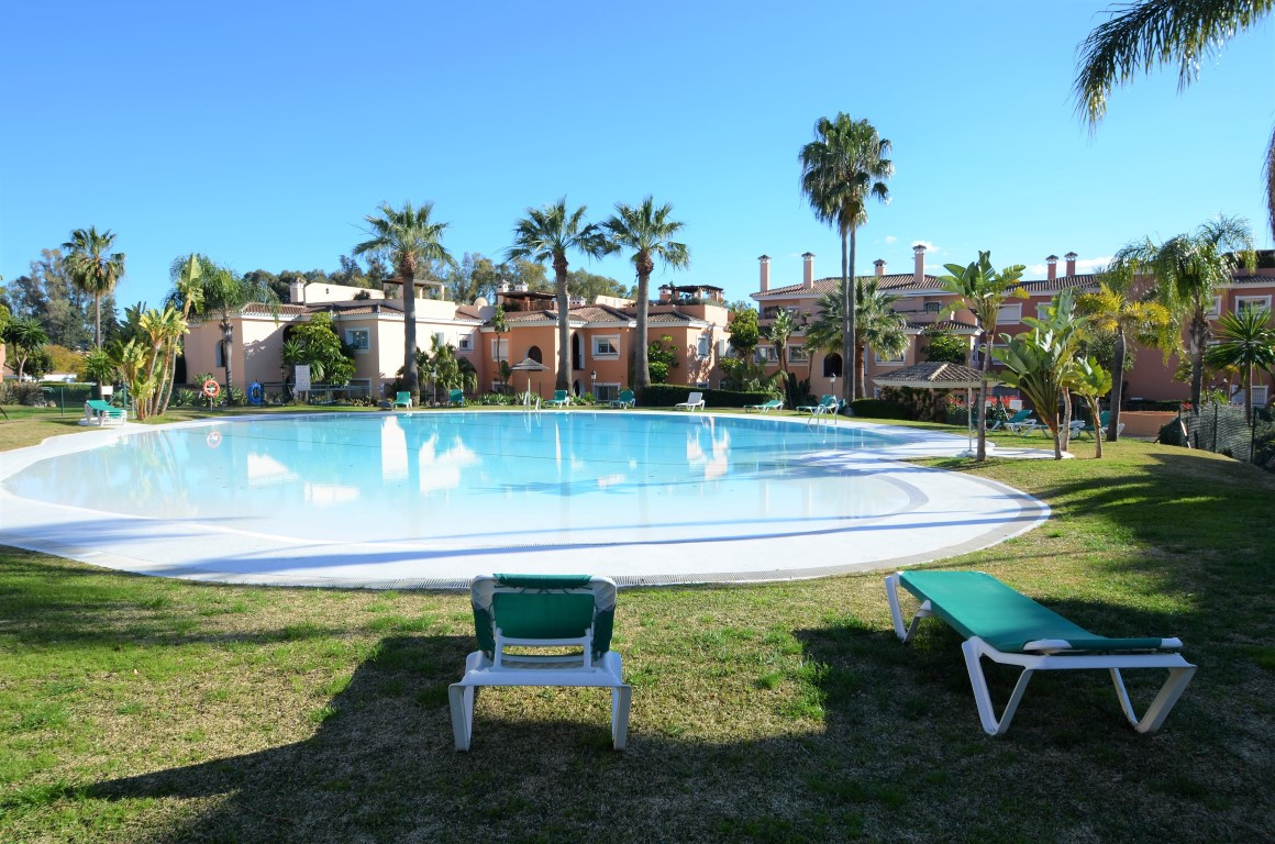 Beutyful ground floor apartment with a large covered terrace and a small garden - SW facing. Less th,Spain