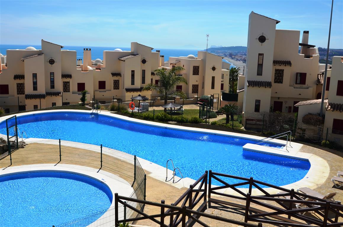 CASARES BEACH, Beautiful apartment of 2 bedrooms with side views to the sea, to the mountains and Af,Spain