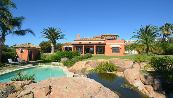 Location!! Spectacular villa built on two levels in the highest quality materials occupying a prime ,Spain