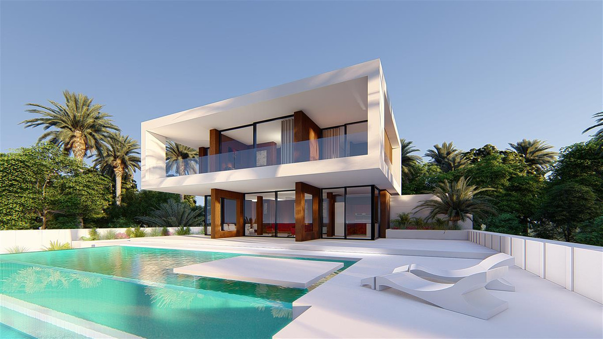 The design of this villa is elegant and modern at the same time, its stunning architecture mixes  th,Spain