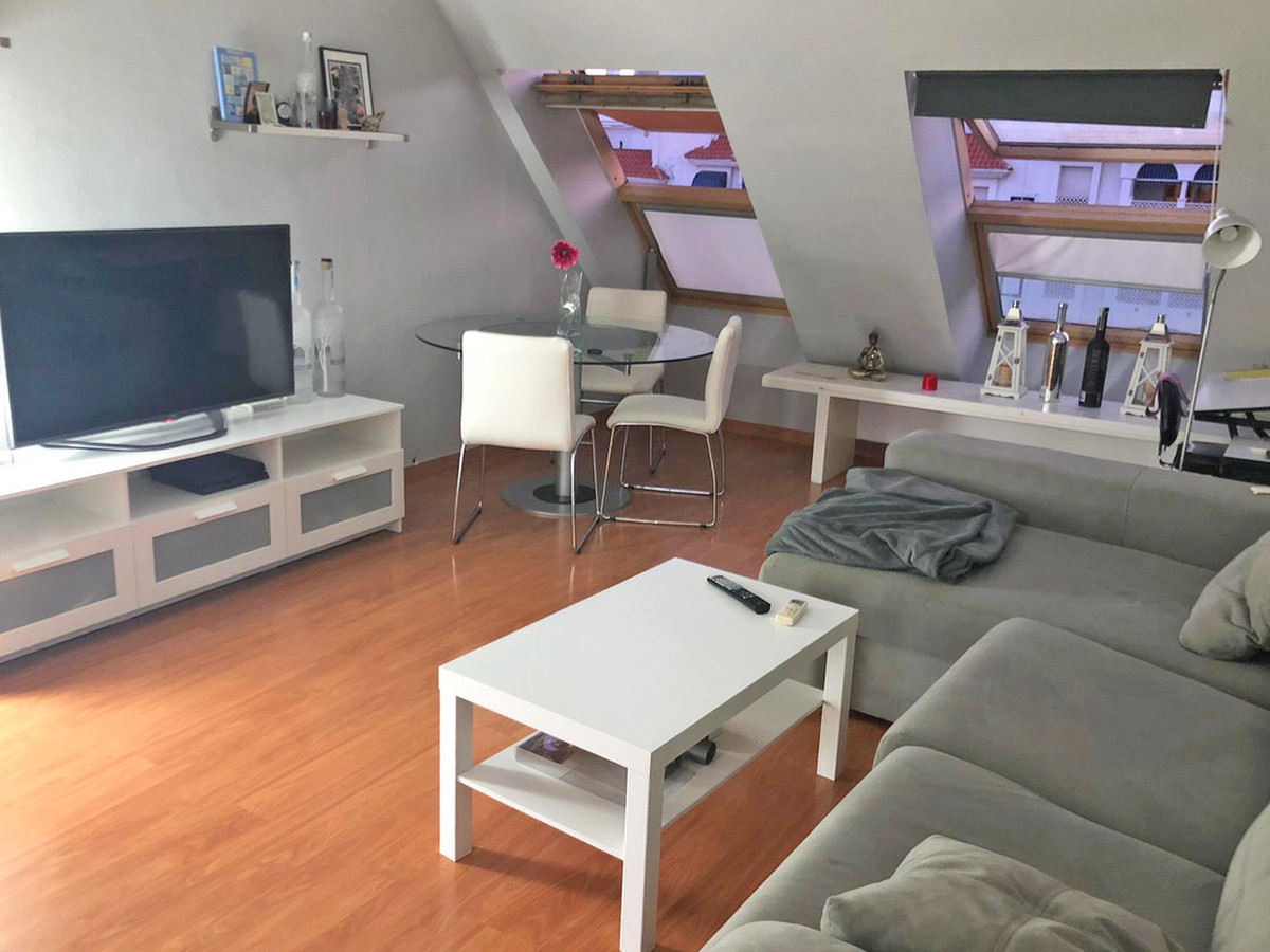 Penthouse in El Arquillo complex with 2 bedrooms, 1 bathroom, kitchen with utility room.  The attic ,Spain