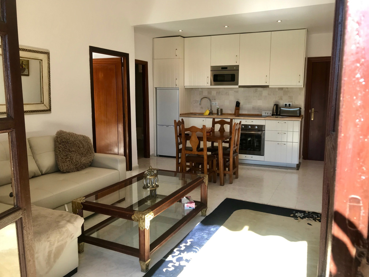 Lägenhet på mellanplan