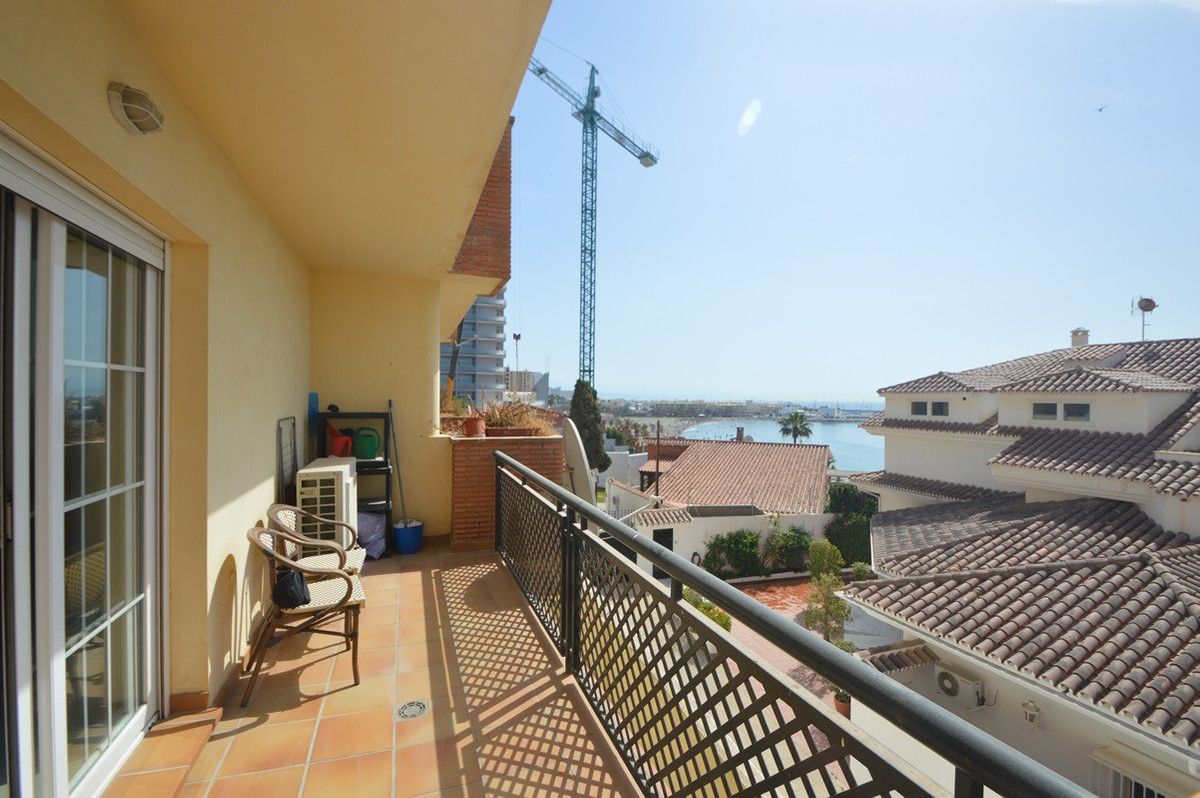 BEACHSIDE BENALMADENA WITH VIEWS TO THE SEA   An opportunity to purchase a 2 bedroom large apartment,Spain